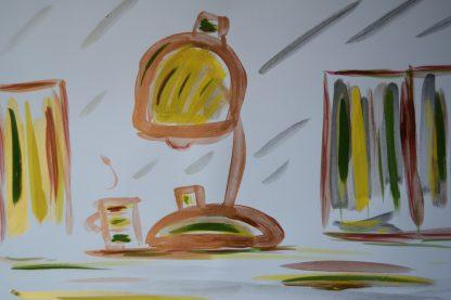 Table Lamp sample by R.L. Douglas