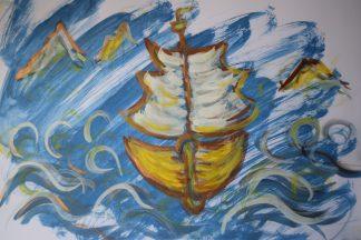 Ship sample by R.L. Douglas